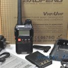 New Version! Original BaoFeng UV-3R+ UV-3R PLUS Dual-Band Dual-Display Ham Radio