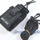 Multi-function Nylon Case Holder for Kenwood Yaesu ICOM Motorola radio on Duty A