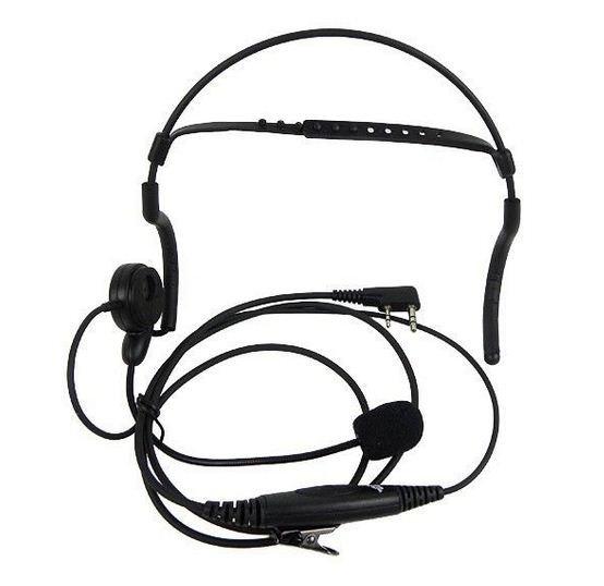 Buy Mfj 393k Headphones With Boom Mic Wired For Kenwood Radio Shop