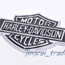 3D Harley Davidson Motor Cycle Emblem Badge Sticker Decal Chromed Metal Big Size