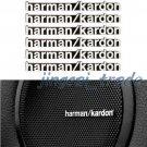 6 x Harman Kardon Sports Car Replacement Sticker Emblem Badge for Audio Speaker