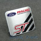 Ford Racing Performance Parts ST Aluminium Decal Badge Emblem for Auto Car Van