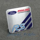 Ford Racing Performance Parts RS Aluminium Decal Badge Emblem for Auto Car Van