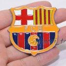 3D Car Auto Emblem Badge Sticker Decal Metal Soccer Football Barcelona FC LOG