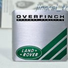 Land Rover OVERFINCH Aluminium Decal Badge Emblem Universal for Auto Car SUV