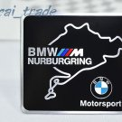 BMW ///M Nurburgring Motor Sport Aluminium Decal Badge Emblem for Auto Car SUV