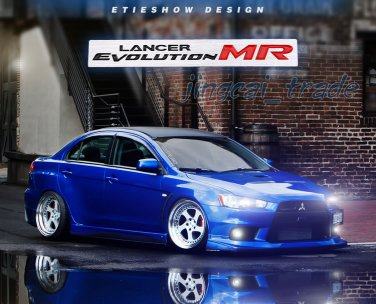 Luxury! LANCER EVOLUTION MR Aluminium Car Auto Decal Badge Emblem For Mitsubishi