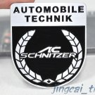 AC Schnitzer 3D Thick Aluminium Car Auto Decal Badge Emblem for BMW M-Power M3 M5 M6