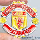 Thick! 3D Car Emblem Badge Decal Metal Soccer Football Manchester United LOGO