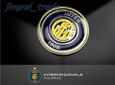 Thick! 3D Car Auto Emblem Badge Decal Metal Soccer Football Inter Milan FC LOGO