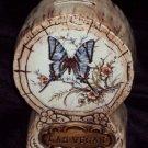 Vintage Treasure Craft Bank Souvenir LasVegas Butterfly Design