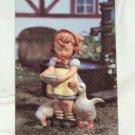 "MJ Hummel Vintage Plaque Goebel West Germany Ricolor-Pictura Hot Plate ""Be Patient"""