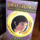 Frodo the Hobbit 2001 Lord of the Rings Glass Goblets Collection NIB