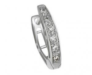 Diamond Sole Earring