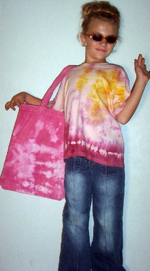 Di's Girly Pink Bag