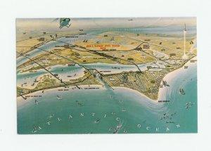 Artist's Concept, NASA's John F. Kennedy Space Center, Cape Kennedy, Florida Postcard