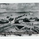 U.S. Fifth Army Ducks Beachhead near Anzio Italy 1944