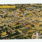 Aerial View Durant Oklahoma 1954 Postcard