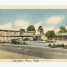 Columbus Motel Court Mississippi Postcard