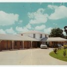 Motel Louisiane Natchitoches Louisiana Postcard 1964