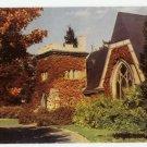 Hay Mem. Chapel Westminster School Simsbury Postcard