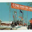 Concord Hotel Ski Area Kiamesha Lake New York Postcard