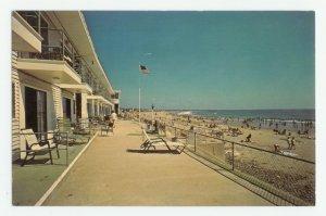 Driftwinds Motel Wells Beach Motor Inn Maine Postcard