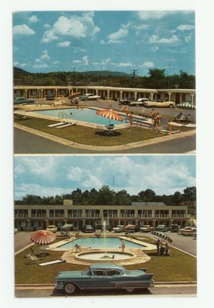 Anthony Motel Hot Springs Arkansas Postcard 1950s