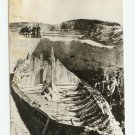 Norway Gokstadskipet Excavation Postcard 1880s Photo