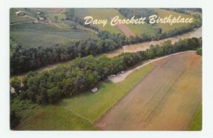 Davy Crockett Birthplace Limestone Tennessee Postcard