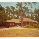 House Asilomar Beach State Park California Postcard