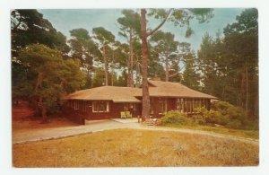 House Asilomar Beach State Park California Postcard