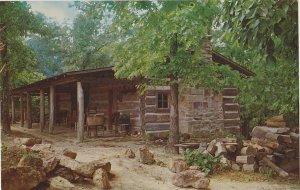 Horseshoe Bluff Museum Lacon Mountain AL Postcard