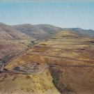 12 Switchbacks White Bird Hill Idaho Postcard
