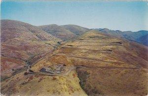 12 Switchbacks White Bird Hill Idaho Postcard