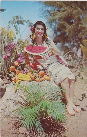 Miss Nicaragua in Nicaraguan Typical Dress Postcard
