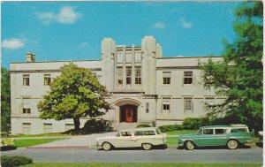 Futrall Hall University of Arkansas Postcard 1950s