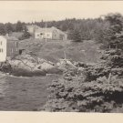 Palmer & Boynton Cottages Brackett Monhegan Postcard