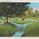 Gypsy Hill Park Staunton Virginia Postcard 1937