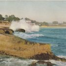 Sea Cliff Drive Santa Cruz California Vintage Postcard