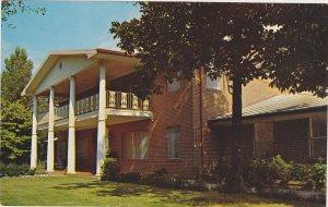 Saxon Home Wellington Alabama Postcard