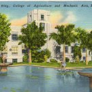 Administration Bldg., College of Agriculture & Mech Arts, Mayaguez, PR Postcard