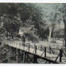 City Park Herington Kansas 1911 Postcard