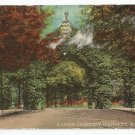 Easton Cemetery Gateway Easton Pennsylvania Postcard 1917