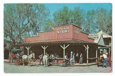 General Store Six Gun Territory Silver Springs Florida Postcard