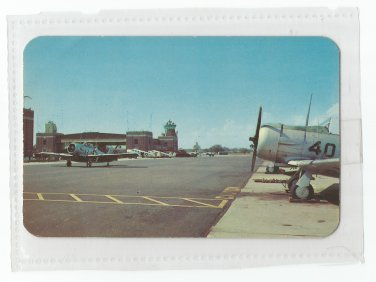 Flight Tower and Landing Apron Naval Air Station Pensacola Vintage Postcard