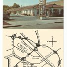 Alameda Motel San Jose California Postcard 1970s?