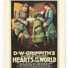 D.W. Griffith's Hearts of the World Movie Poster Postcard
