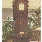 Handcarved Grandfather Clock Hotel Monteleone New Orleans LA Postcard