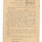 Appollo Hiawatha Picnic Glenwood Forest Perserve IL Postcard 1948